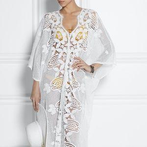 Miguelina Rachel Cotton Lace Cover Up Dress